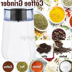 110V Electric Spice Coffee Nut Seed Herb Grinder Crusher Mil