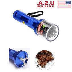 1pc Aluminum Electric Tobacco Grinder Crusher Herb Spice Smo