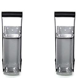 2 New 16 Oz Aluminum Can Crusher And Bottle Opener