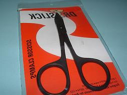Dr Slick 4 3/4 inch Barb Crusher Black Scissor Clamps Fly Fi