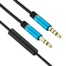4.5FT Audio <font><b>Cable</b></font> for Skullcandy Hesh 3,