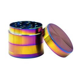 4 Layer Tobacco Herb Grinder Spice Herbal Zinc Alloy Smoke H