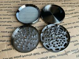 4 Piece Tobacco Crusher 4 Inch Grinder With Rolling Tray Cyb