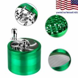 55mm Zinc Alloy Hand Crank Herb Spice Crusher Muller Mill To