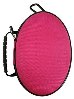 CASEBUDi Oval Hard Shell Headphone Carrying Case | For Beats