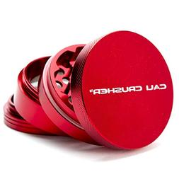 Cali Crusher Herb Grinder Large 4 Piece Red... by Cali Crush