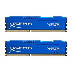 Kingston HyperX FURY 8GB Kit  1600MHz DDR3 CL10 DIMM - Blue