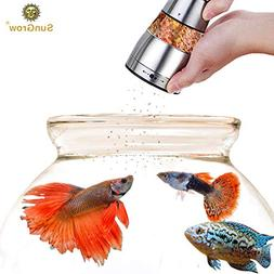 SunGrow Betta Food Grinder - Crusher and Dispenser for Food
