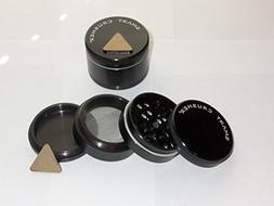 New Design!! BLACK SMART CRUSHER® 4PCS Space CNC Aluminum M