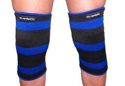 Blue Crusher 2 Ply Knee or Elbow Sleeves - Powerlifting - We
