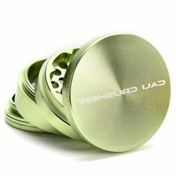Cali Crusher Herb Grinder Large 4 Piece Green...