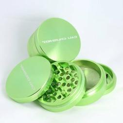 Cali Crusher Herb Grinder Large 4 Piece Green…