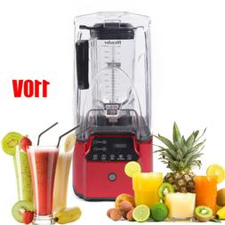 Commercial 2200W Soundproof Cover Blender Juicer Smoothie Ic