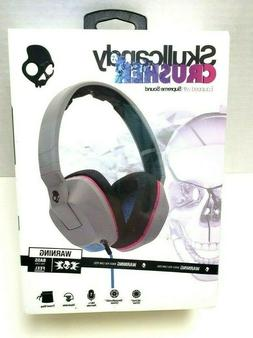 Skullcandy Crusher Headphones with Built-in Amplifier and Mi