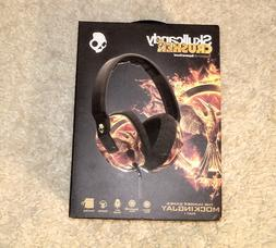 Skullcandy Crusher HUNGER GAMES. Headphones. NEW. WIRED.
