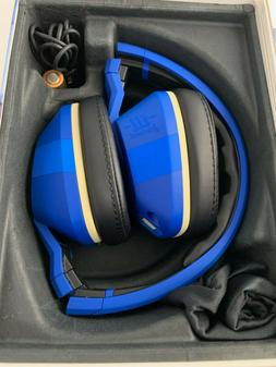Skullcandy Crusher Wired Over-Ear Headphones ILL Famed- Blue
