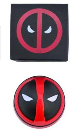 Dead Pool Marvel Herb Tobacco Grinder Spice Crusher Aluminum