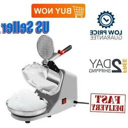 Electric Powered Ice Crusher Shaver Machine Heavy Duty Stain