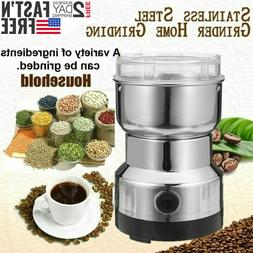 Electric Spice Coffee Nut Seed Herb Grinder Crusher Mill Ble