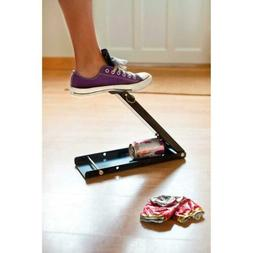 foot operated tin can crusher floor standing