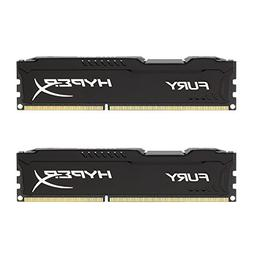 HyperX Fury Black Series 8GB  240-Pin DDR3 SDRAM DDR3 1600