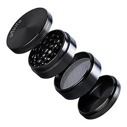 "Herb Grinder, Ohuhu 4 Pieces 2.38"" Spice Plant Tobacco Grind"