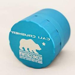 Cali Crusher Homegrown 4 Piece AQUA Herb Grinder Standard Si