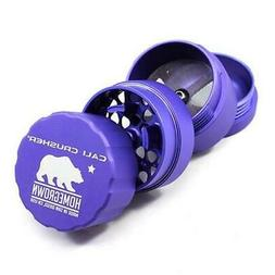 Cali Crusher Homegrown Pocket 4 Piece PURPLE Herb Grinder 1.