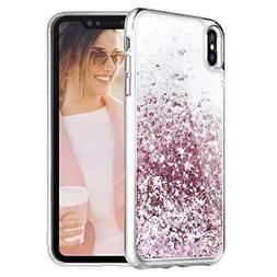 For iPhone XS Max Glitter Case Women Luxury Shockproof Scree