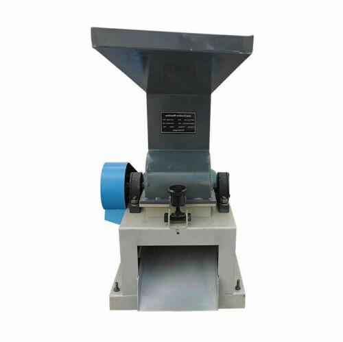 220V Glass/Bottle Crusher Small Hammer Holes US
