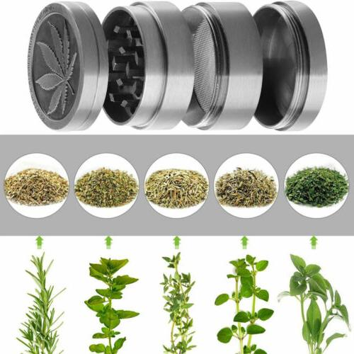 4 Herb Spice Tobacco/Weed Zinc Alloy