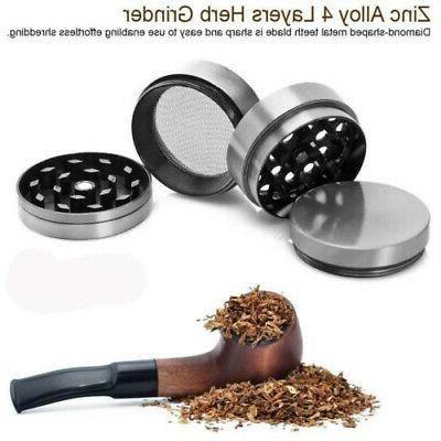 4 Grinder Spice Tobacco/Weed Alloy Crusher