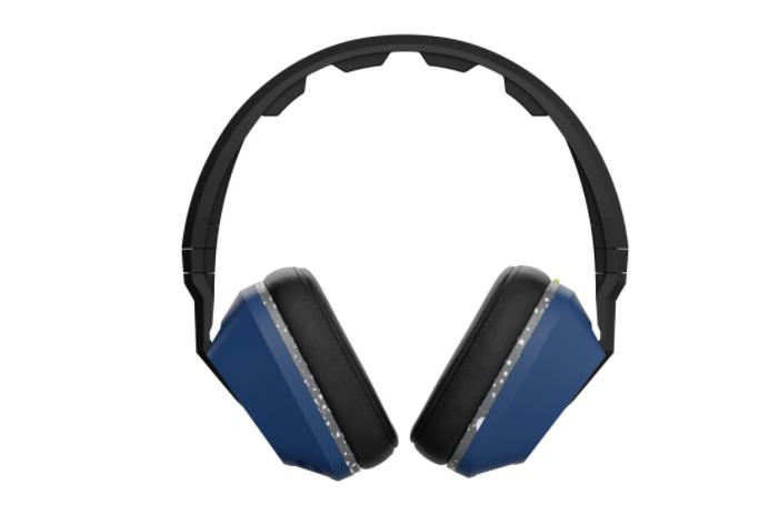 Skullcandy - Crusher Over-the-ear Headphones - Blue/gray