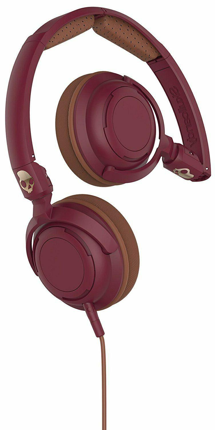 Skullcandy Lowrider Headphones with Rotating Earcups, Suprem