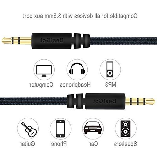 Cable 3.5mm with in-line for Controller, Stereos and