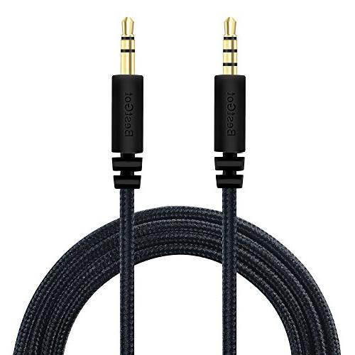 BestGot Cord Cable 3.5mm Headphones with Volume for PS4 Controller, Stereos More