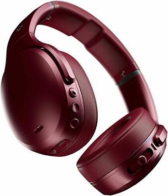 Skullcandy Crusher ANC Red Noise Cancelling Wireless Over Th