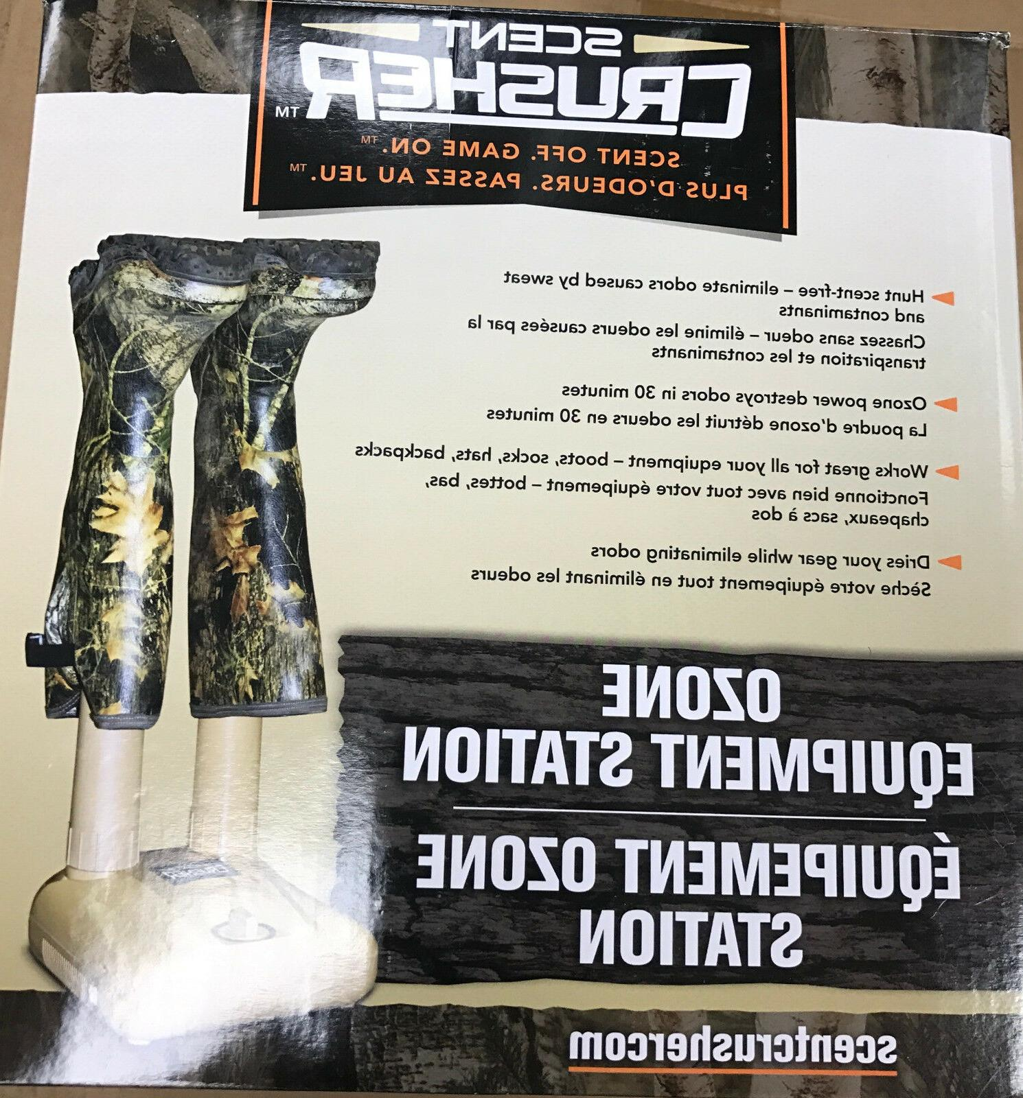 New Scent Crusher Equipment Boot Station Scent Elimination 6