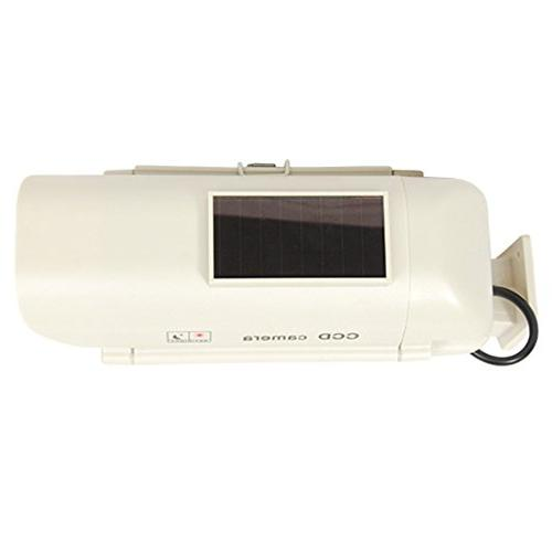 Fake Security Camera, Best Outdoor Security Features Dummy Security Light, Rechargeable AA Batteries, Satisfaction .