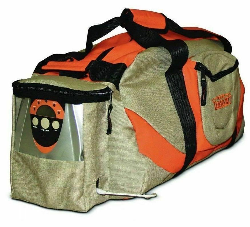 gear bag ozone elimination storage