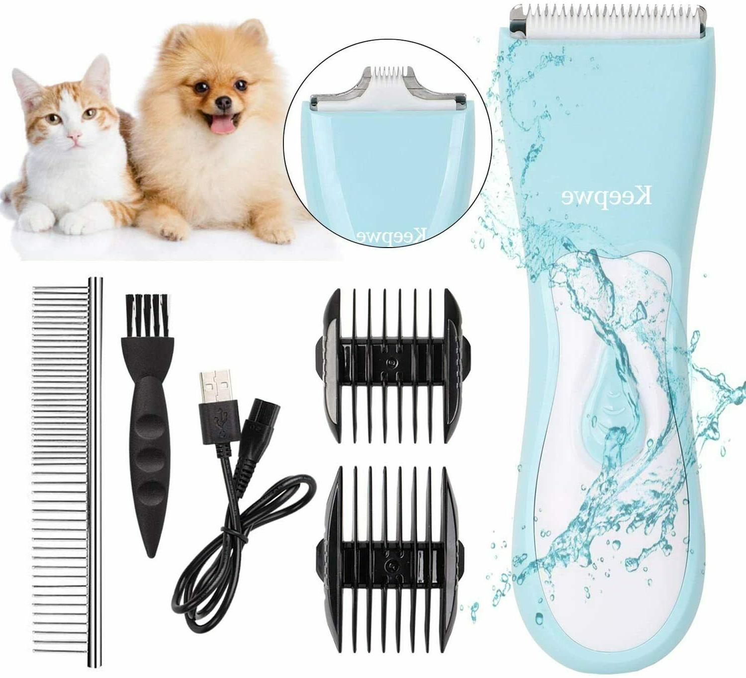 Dog Clippers in 1 Kit Double Cordless