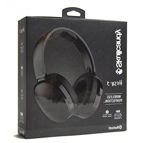 Skullcandy Wireless Over-Ear Headphones Microphone, Rapid Charge Battery, Ear All-Day