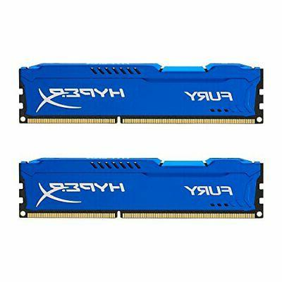 kingston fury 8gb kit 2x4gb 1600mhz ddr3