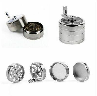 Large Stainless Herb Weed Grinder-4 Layers Crusher