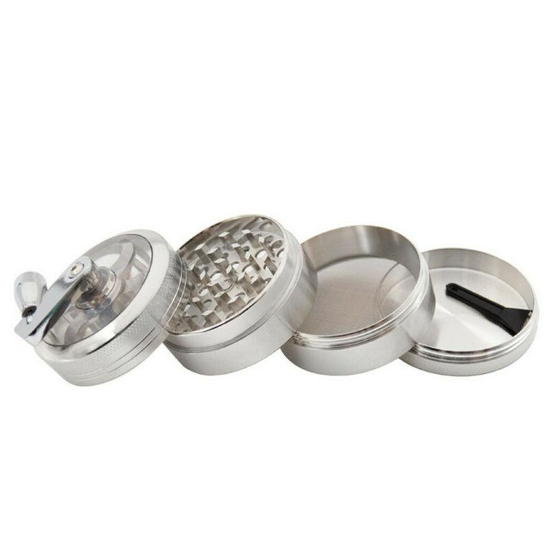 Large Stainless Tobacco Herb Crusher