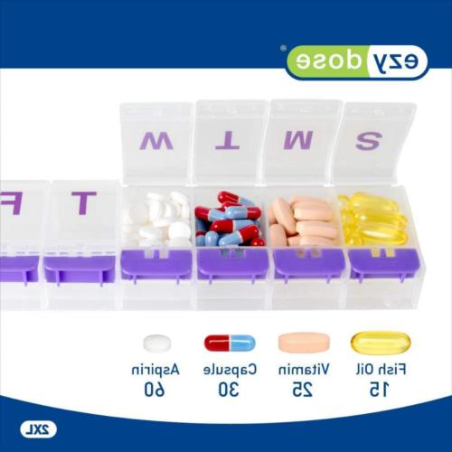 Medicine Pill Weekly Case Travel For Pm