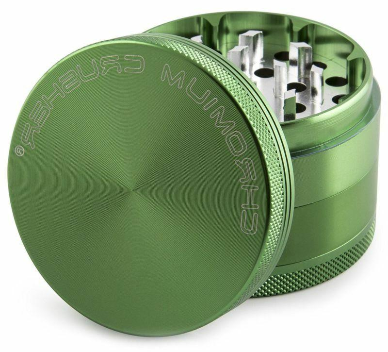 Chromium Grinder 3 Chamber Spice Green
