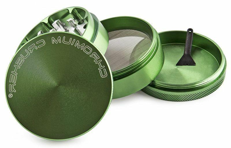 Chromium Crusher Tobacco Grinder 3 Spice Green