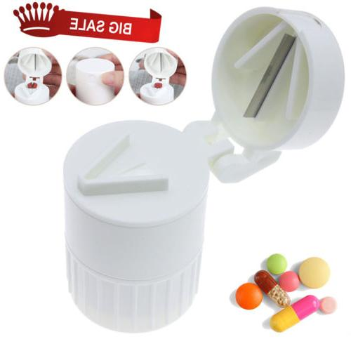 Multi Function Pill Grinder Cutter Powder Daily