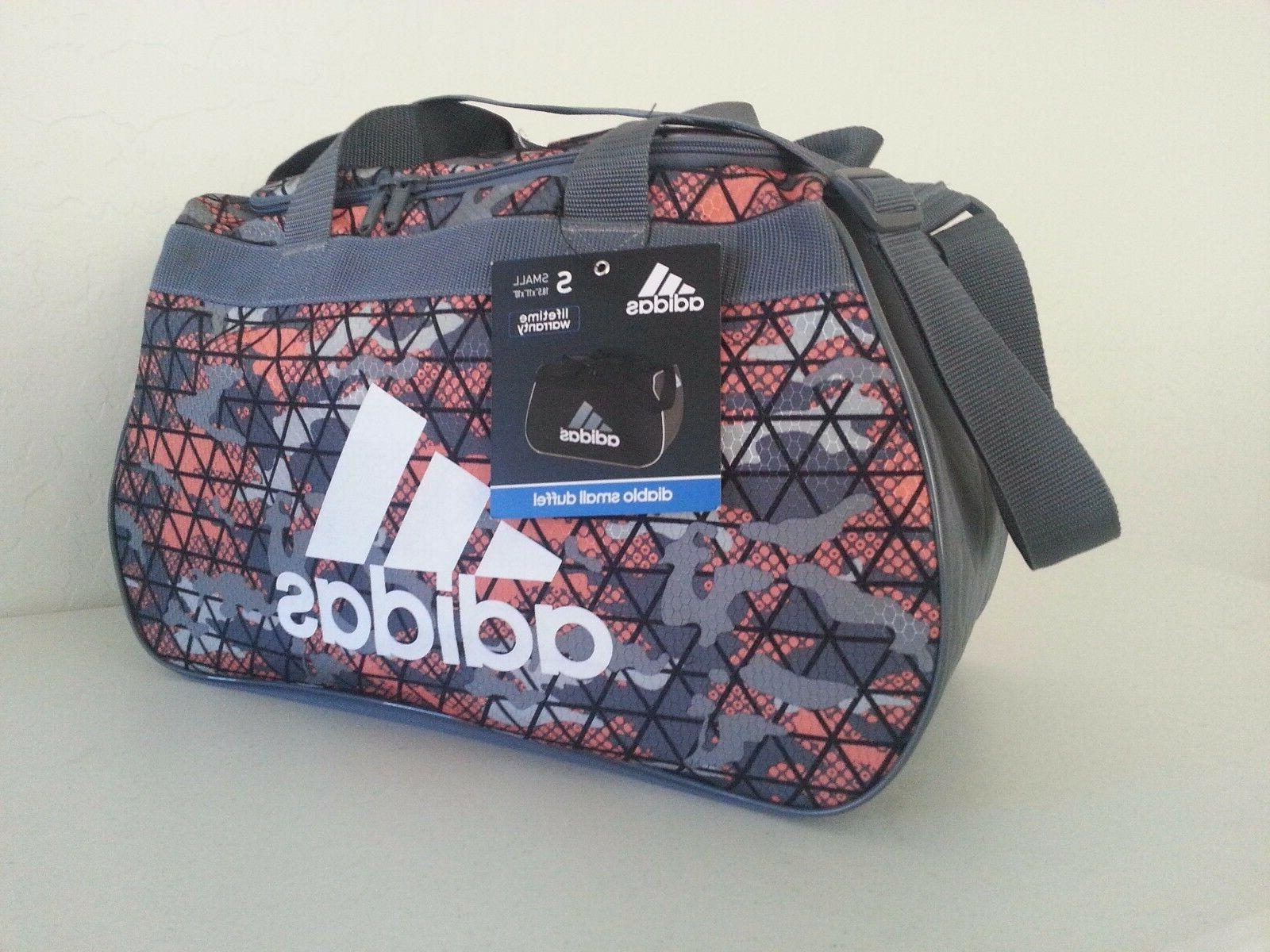 NWT Adidas Diablo Crusher Ultra Bright/Onix Small Duffle Spo